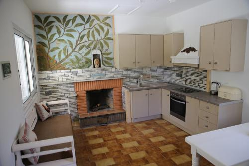 Kitchen & Fireplace (Kefalonia)
